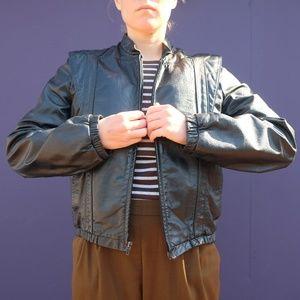 BERMAN'S 80s leather jacket